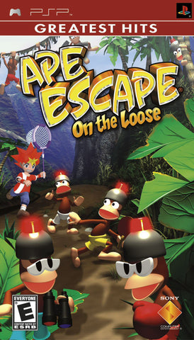 Ape Escape: On the Loose (Greatest Hits) - PSP
