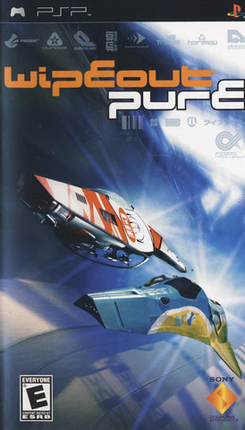 Wipeout Pure - PSP