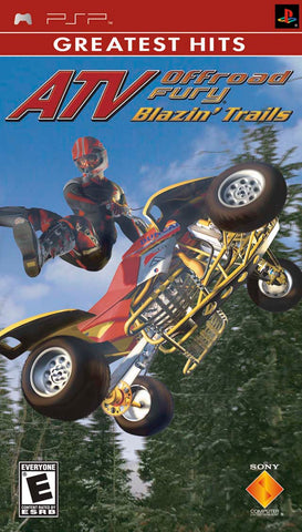 ATV Offroad Fury: Blazin' Trails (Greatest Hits) - PSP