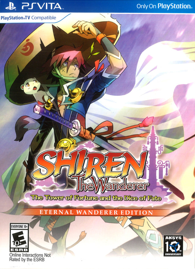 Shiren the Wanderer: The Tower of Fortune and the Dice of Fate (Eternal Wanderer Edition) - PS Vita