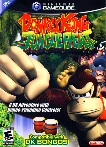 Donkey Kong Jungle Beat - GameCube [USED]