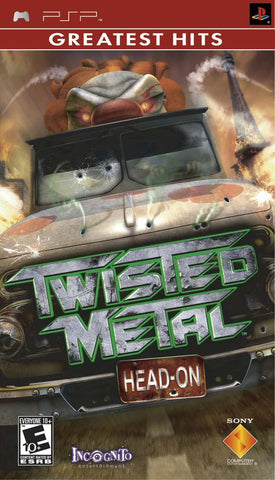 Twisted Metal: Head-On (Greatest Hits) - PSP