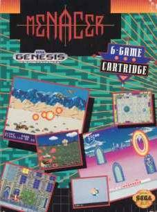 Menacer 6-Game Cartridge - SEGA Genesis [USED]