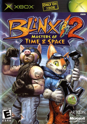 Blinx 2: Masters of Time & Space - Xbox
