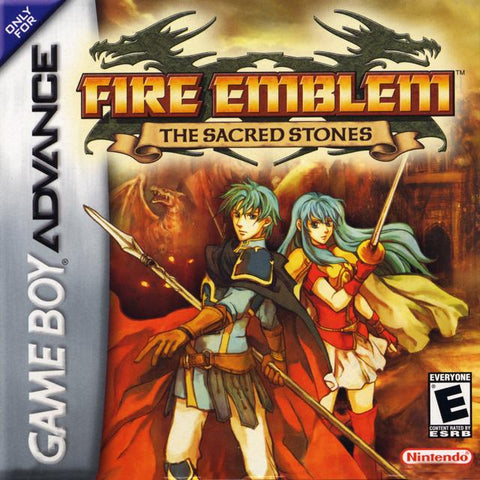 Fire Emblem: The Sacred Stones - Game Boy Advance [USED]