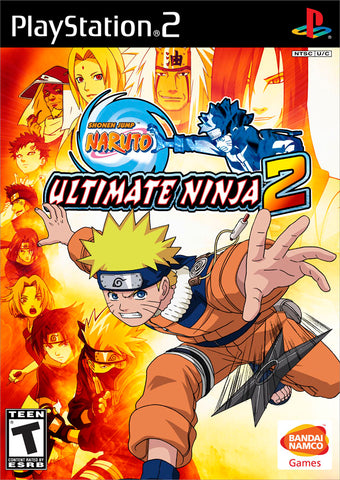 Naruto: Ultimate Ninja 2 - PlayStation 2