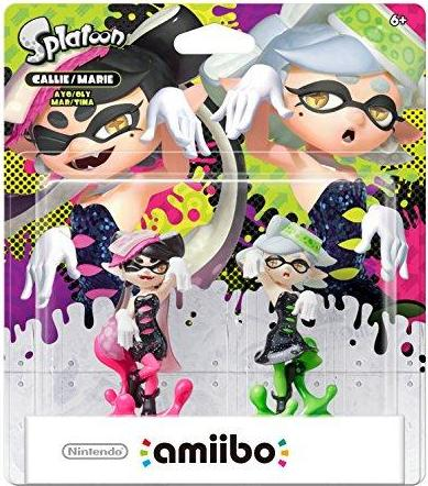 Callie & Marie 2-Pack (Splatoon Series) Amiibo