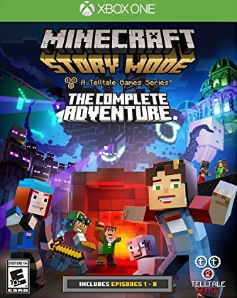 Minecraft: Story Mode - A Telltale Games Series - The Complete Adventure - Xbox One