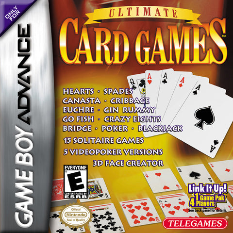 Ultimate Card Games - Game Boy Advance [USED]