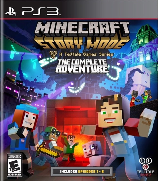 Minecraft: Story Mode - A Telltale Games Series - The Complete Adventure - PlayStation 3