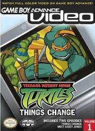 Game Boy Advance Video: Teenage Mutant Ninja Turtles: Things Change - Volume 1 - Game Boy Advance