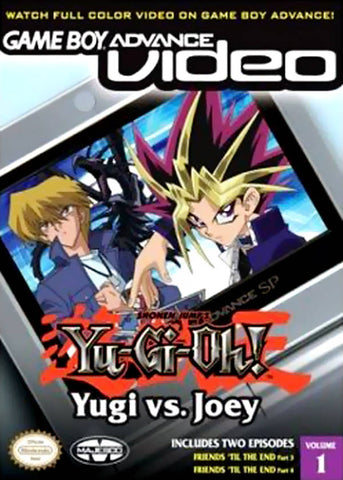 Game Boy Advance Video: Yu-Gi-Oh!: Yugi vs. Joey - Volume 1 - Game Boy Advance [USED]