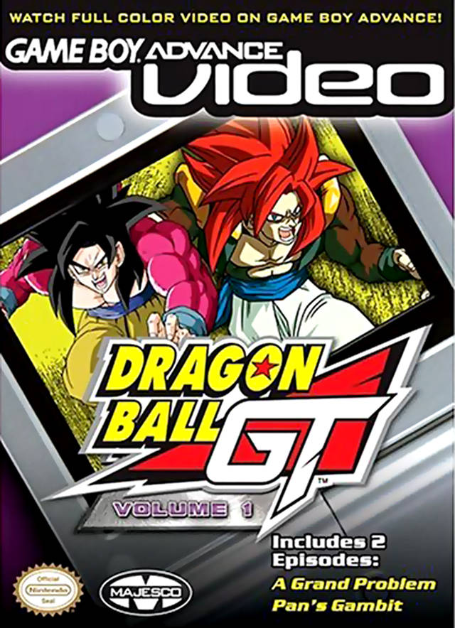 Game Boy Advance Video: Dragon Ball GT - Volume 1 - Game Boy Advance