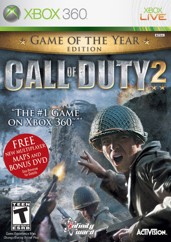 Call of Duty 2 (Game of the Year Edition) - Xbox 360