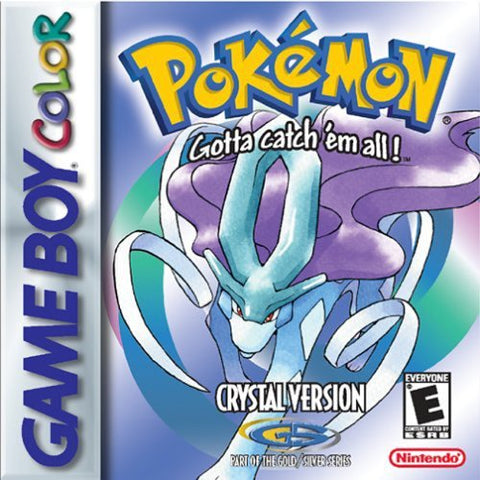 Pokemon Crystal Version - Game Boy Color Pre-Owned