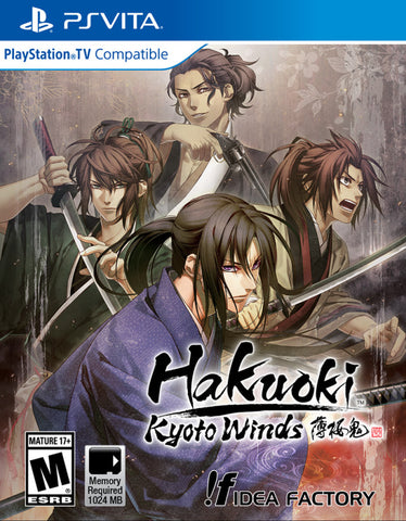 Hakuoki: Kyoto Winds - PS Vita