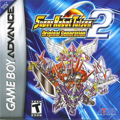 Super Robot Taisen: Original Generation 2 - Game Boy Advance [USED]