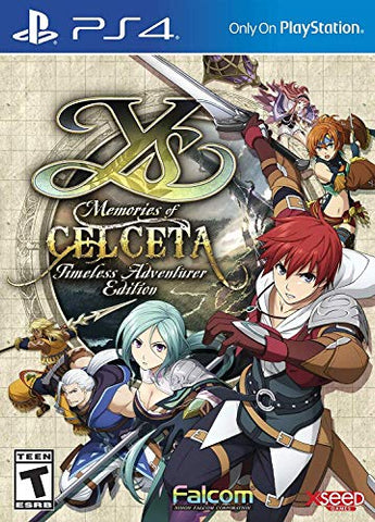 Ys: Memories of Celceta - Timeless Adventurer - PlayStation 4