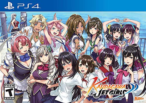 Kandagawa Jet Girls - Racing Hearts Edition (Day 1) - PlayStation 4 Box Art