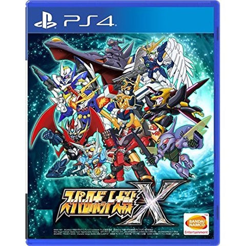 Super Robot Wars X - PlayStation 4 (Chinese Sub)