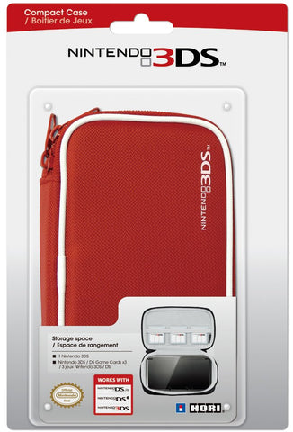 HORI Nintendo 3DS Compact Case (Red)- Nintendo 3DS