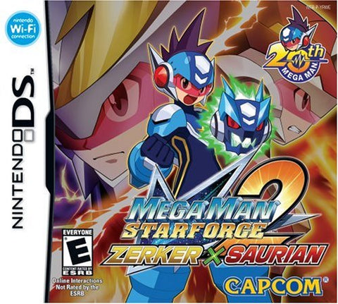 Mega Man Star Force 2 Zerker X Saurian - Nintendo DS [NEW]