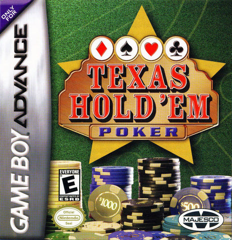 Texas Hold 'Em Poker - Game Boy Advance [NEW]