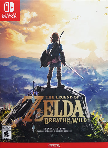 The Legend of Zelda: Breath of the Wild (Special Edition) - Nintendo Switch