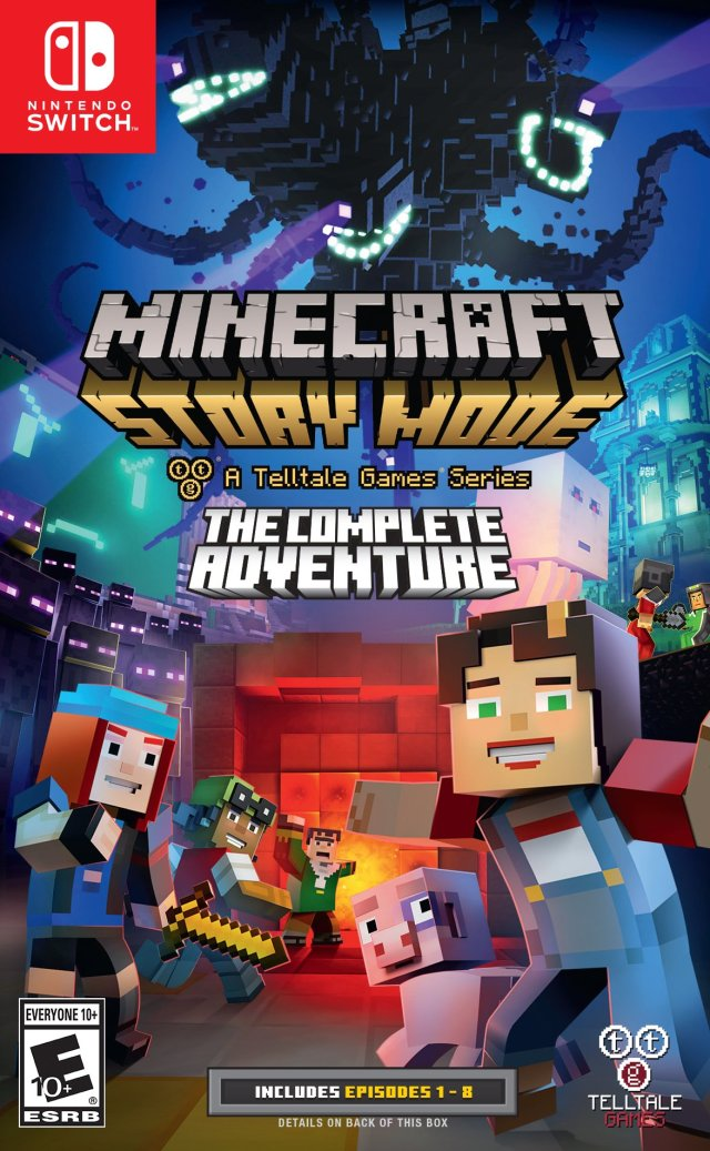 Minecraft: Story Mode - A Telltale Games Series - The Complete Adventure - Nintendo Switch
