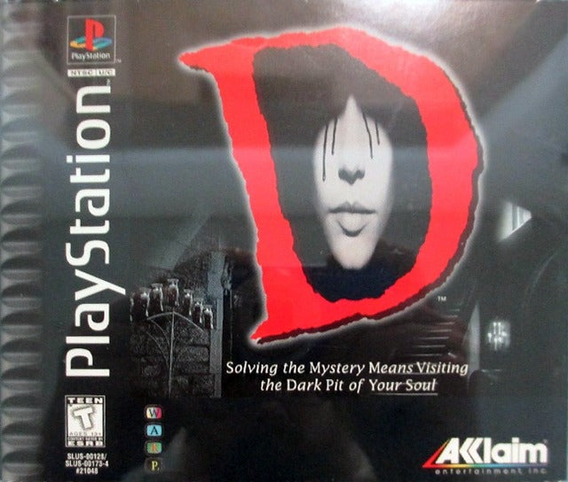 D (Jewel Case) - PlayStation