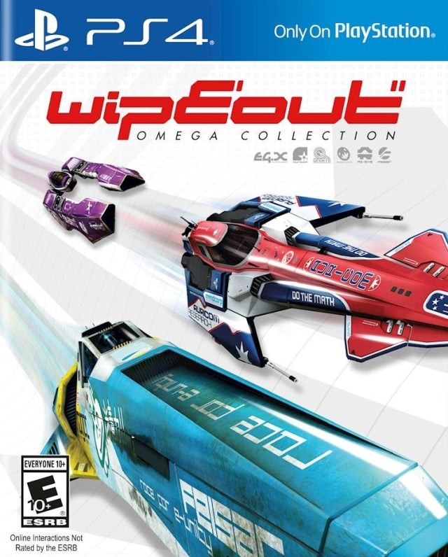 Wipeout: Omega Collection - PlayStation 4
