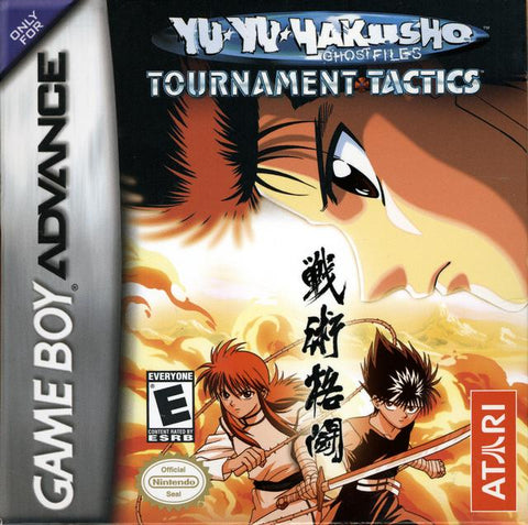 Yu Yu Hakusho - Ghost Files: Tournament Tactics - Game Boy Advance [USED]