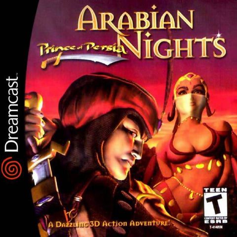 Prince of Persia: Arabian Nights - SEGA Dreamcast (ACT, 2000) [USED]