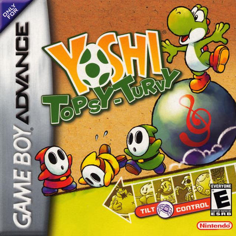Yoshi Topsy-Turvy - Game Boy Advance [USED]