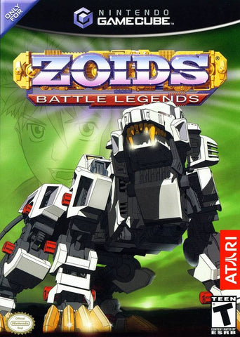 Zoids: Battle Legends - GameCube [USED]