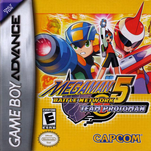 Mega Man Battle Network 5: Team Protoman - Game Boy Advance [NEW]
