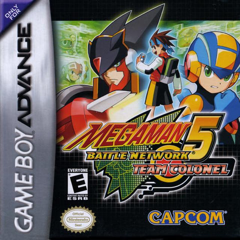 Mega Man Battle Network 5: Team Colonel - Game Boy Advance [NEW]