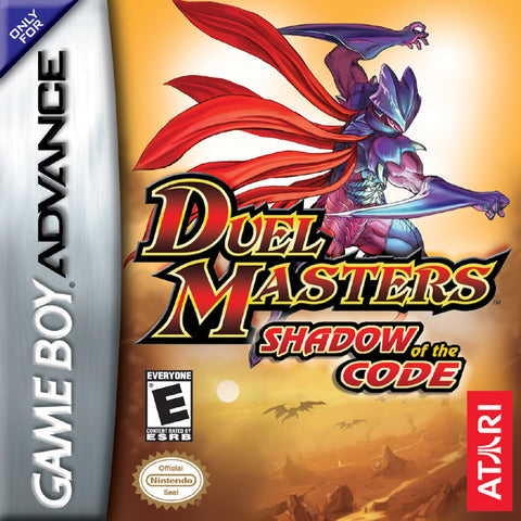 Duel Masters: Shadow of the Code - Game Boy Advance (TPS Strategy, 2004, US )