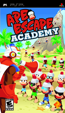 Ape Escape Academy - PSP