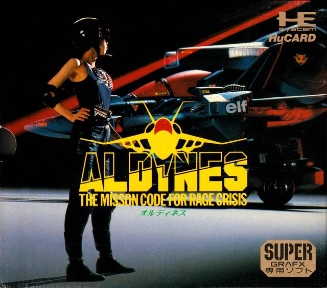 Aldynes: The Mission Code for Rage Crisis - TurboGrafx-16 (Japan)