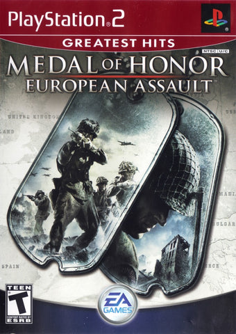 Medal of Honor: European Assault (Greatest Hits) - PlayStation 2