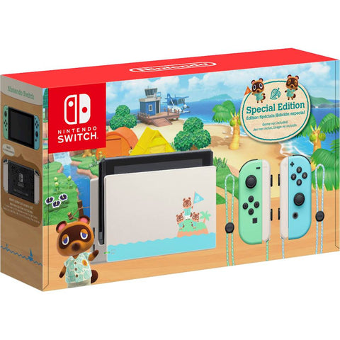 Nintendo Switch - Animal Crossing: New Horizons Edition - Nintendo Switch