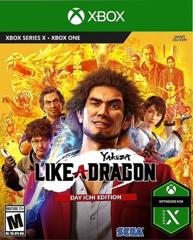 Yakuza: Like a Dragon - Day Ichi Edition - Xbox One Xbox Series X