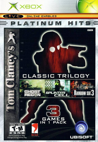 Tom Clancy's Classic Trilogy (Platinum Hits) - Xbox