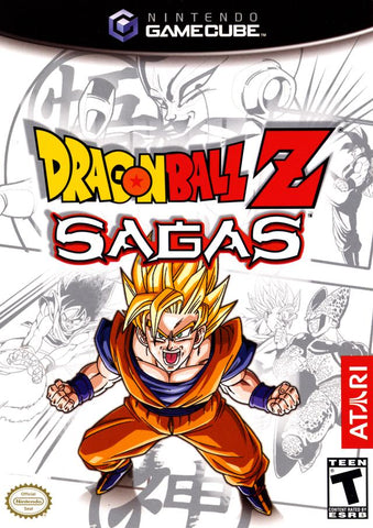 Dragon Ball Z: Sagas - GameCube [USED]