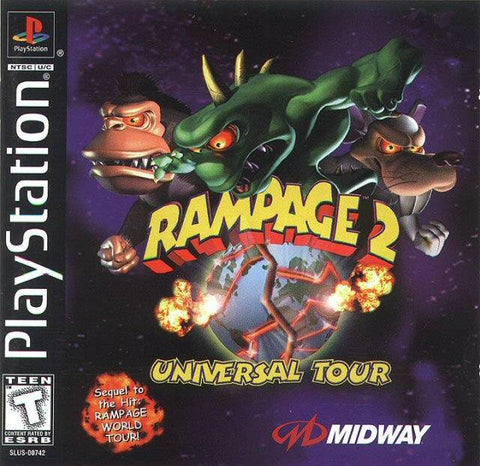 Rampage 2: Universal Tour - PlayStation
