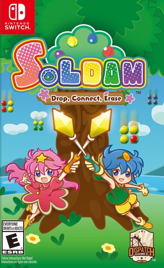 Soldam: Drop, Connect, Erase - Nintendo Switch