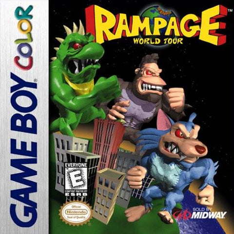 Rampage: World Tour - Game Boy Color [USED]