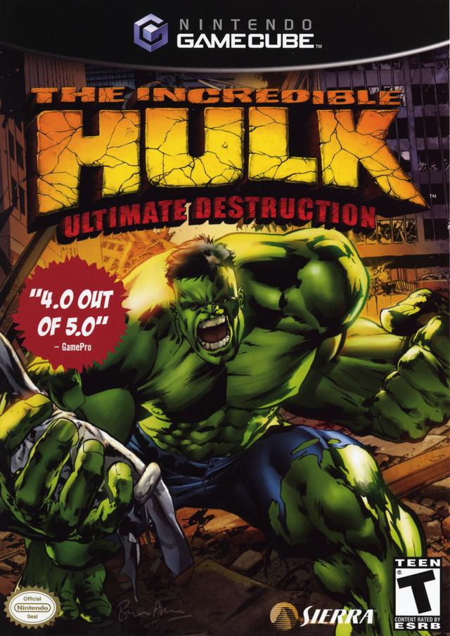 The Incredible Hulk: Ultimate Destruction - GameCube [USED]