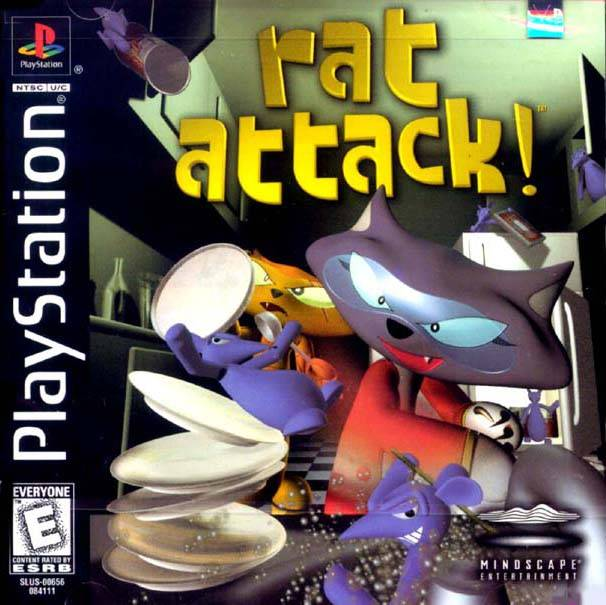 Rat Attack! - PlayStation